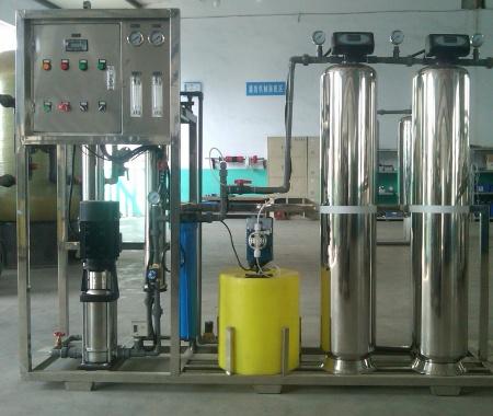 0.5吨单级纯净水反渗透设备