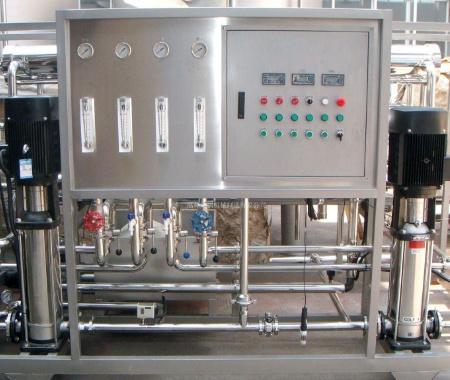 4吨时反渗透纯净水设备