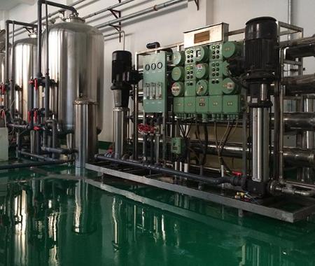 10吨时反渗透净水设备