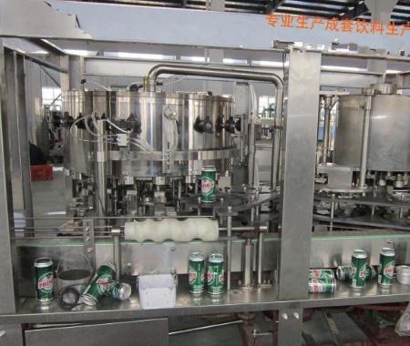 易拉罐啤酒饮料灌装机