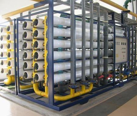 80吨时反渗透纯净水设备