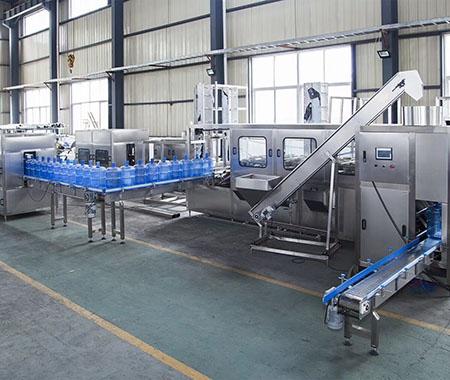 桶装水灌装机生产线